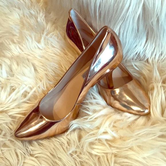 INC International Concepts 🌹Rose Gold Heels!